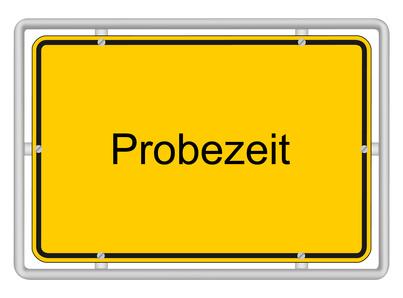 Probezeit (© Agrus / Fotolia.com)