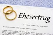 Schnelle Unwirksamkeit bei einseitigem Ehevertrag