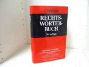 Creifelds Rechtswörterbuch - 20. Auflage