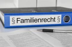 Aktenordner Familienrecht (© Zerbor - Fotolia.com)