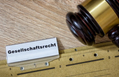 Akten zum Gesellschaftsrecht (© p365.de - Fotolia.com)