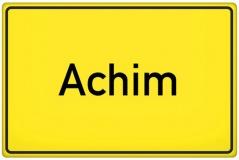 Ortsschild Achim (© qualitystock - Fotolia.com)