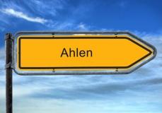 Ortsschild Ahlen  (© Thomas Reimer - Fotolia.com)