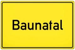 Ortsschild Baunatal (© qualitystock - Fotolia.com)