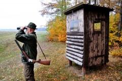 Jäger auf der Pirsch (© Noxmox - Fotolia.com)