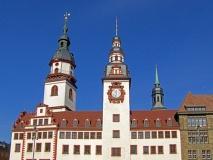 Altes Rathaus und Stadtkirche in Chemnitz (© Willi - Fotolia.com)