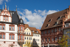 Stadthaus in Coburg (© sehbaer_nrw - Fotolia.com)