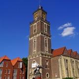 Altstadt von Coesfeld mit St.Lamberti-Kirche (© ErnstPieber - Fotolia.com)