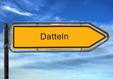 Straßenschild Datteln (© Thomas Reimer - Fotolia.com)