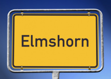 Ortsschild Elmshorn (© kamasigns - Fotolia.com)