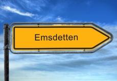 Straßenschild Emsdetten (© Thomas Reimer - Fotolia.com)