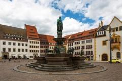 Otto der Reiche Denkmal in Freiberg (© ptiptja - Fotolia.com)