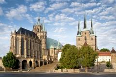 Dom und Severikirche in Erfurt (© Werbe-Papst - Fotolia.com)