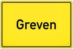 Ortsschild Greven (© qualitystock - Fotolia.com)