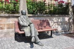 Goethe-Skulptur in Ilmenau (© Henry Czauderna - Fotolia.com)