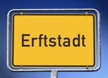 Ortsschild Erftstadt (© kamasigns - Fotolia.com)