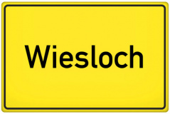 Ortsschild Wiesloch (© qualitystock - Fotolia.com)