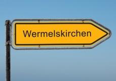 Straßenschild Wermelskirchen (© Thomas Reimer - Fotolia.com)