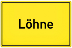 Ortsschild Löhne (© Tom Hansen - Fotolia.com)