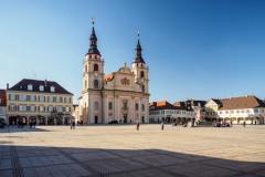 Der Marktplatz in Ludwigsburg (© Manuel Schönfeld - Fotolia.com)
