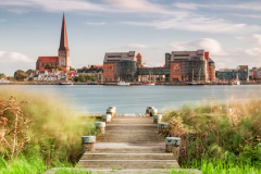 Blick auf Rostock (© Rico K. - Fotolia.com)