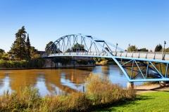 Wesertor-Brücke in Nienburg an der Weser (© fotobeam.de - Fotolia.com)