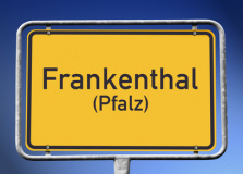 Ortsschild Frankenthal (Pfalz) (© kamasigns - Fotolia.com)