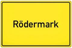 Ortsschild Rödermark (© Tom Hansen - Fotolia.com)