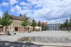 Am Marktplatz in Strausberg (© babelsberger - Fotolia.com)