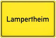 Ortsschild Lampertheim (© qualitystock - Fotolia.com)