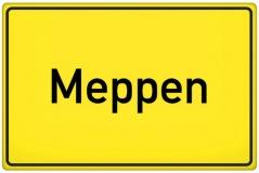 Ortsschild Meppen (© qualitystock - Fotolia.com)