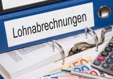 Ordner mit Lohnabrechnungen (© DOC RABE Media - Fotolia.com)