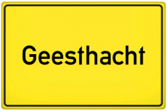 Ortsschild Geesthacht (© qualitystock - Fotolia.com)