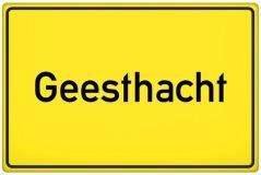 Ortsschild Geesthacht (© qualitystock - Fotolia.com)