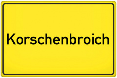 Ortsschild Korschenbroich (© qualitystock - Fotolia.com)