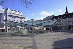 Roßmarkt mit Busbahnhof in Schweinfurt (© dina - Fotolia.com)