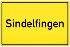Ortsschild Sindelfingen (© qualitystock - Fotolia.com)