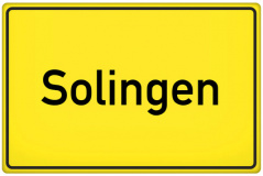 Ortsschild Solingen (© qualitystock - Fotolia.com)