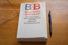 BGB auf dem Schreibtisch (© Bennetsteiner - Fotolia.com)