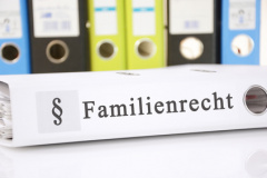Ordner zum Familienrecht (© Marco2811 - Fotolia)