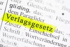 VerlG - Das Gesetz über das Verlagsrecht (© Marco2811 - Fotolia.om)