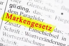 MarkenG - Gesetz über den Schutz von Marken und sonstigen Kennzeichen (© Marco2811 - Fotolia.com.jpg)