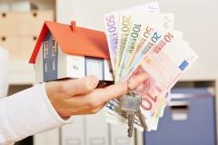 Maklerprovision und Schlüsselübergabe (© Whitelook - Fotolia.com)