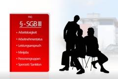 Inhalte des SGB 3 - Sozialgesetzbuches (© SZ-Designs - Fotolia.com)