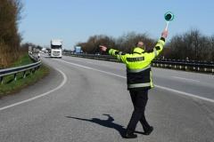 Polizeikontrolle (© Benjaminnolte - Fotolia.com)