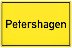 Ortsschild Petershagen (© qualitystock - Fotolia.com)