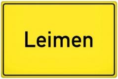 Ortsschild Leimen (© Tom Hansen - Fotolia.com)