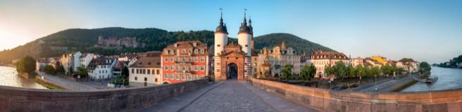 Alte Brücke in Heidelberg (© eyetronic - Fotolia.com)