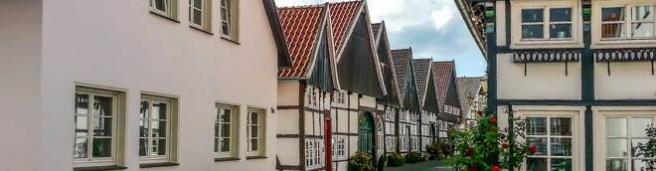 Altstadthäuser von Rheda-Wiedenbrück (© wiko - Fotolia.com)