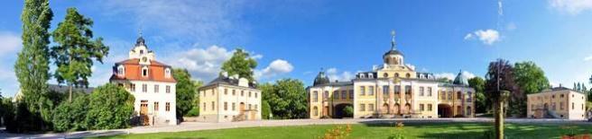 Schloss Belvedere bei Weimar (© Henry Czauderna - Fotolia.com)